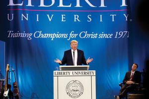 Donald Trump at Liberty University's Convocation